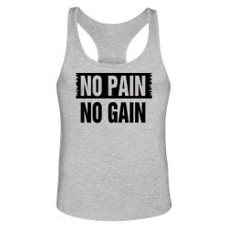 Сив потник No Pain No Gain