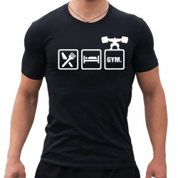 Тениска  Eat Sleep Gym
