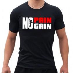 Тениска  No Pain No Gain new