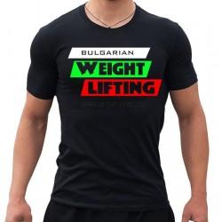 Тениска  Weightlifting Bulgaria